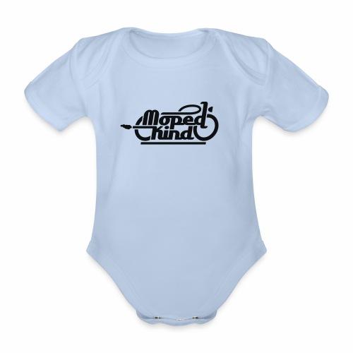 Moped Kind / Mopedkind (V1.0) - Organic Short-sleeved Baby Bodysuit