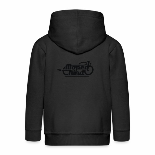 Moped Kind / Mopedkind (V1.0) - Kids' Premium Zip Hoodie