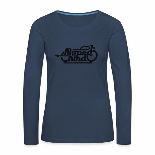 Moped Kind / Mopedkind (V1.0) - Frauen Premium Langarmshirt
