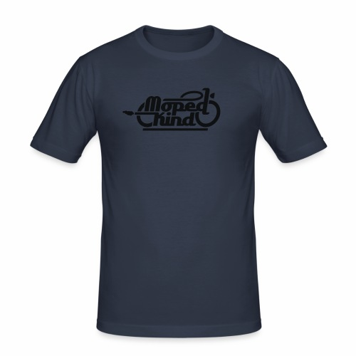 Moped Kind / Mopedkind (V1.0) - Men's Slim Fit T-Shirt