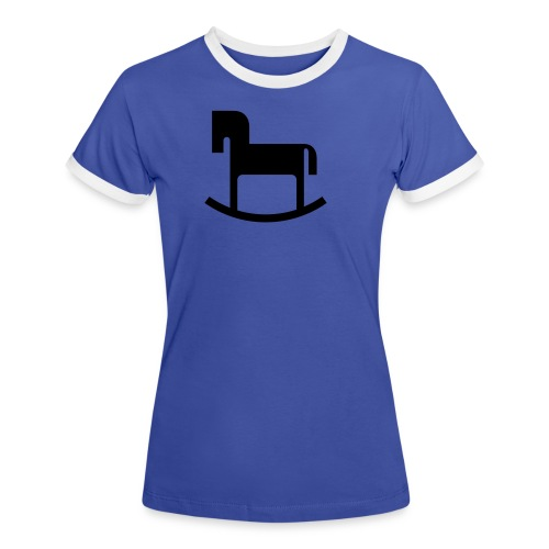 Reiterlein - Frauen Kontrast-T-Shirt