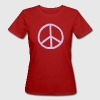 Purple Peace mark  - Women's Organic T-shirt