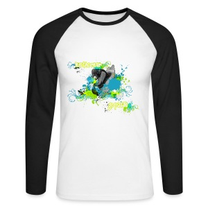 86 Urban Kayak 5 bw - Men's Long Sleeve Baseball T-Shirt