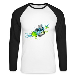 83 Urban Kayak 2 bw - Men's Long Sleeve Baseball T-Shirt
