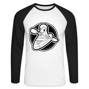 37 KC Logo - Men's Long Sleeve Baseball T-Shirt