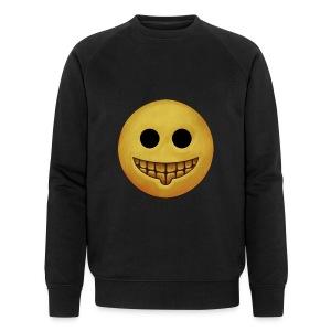 Stupid Grin - Men's Organic Sweatshirt by Stanley & Stella