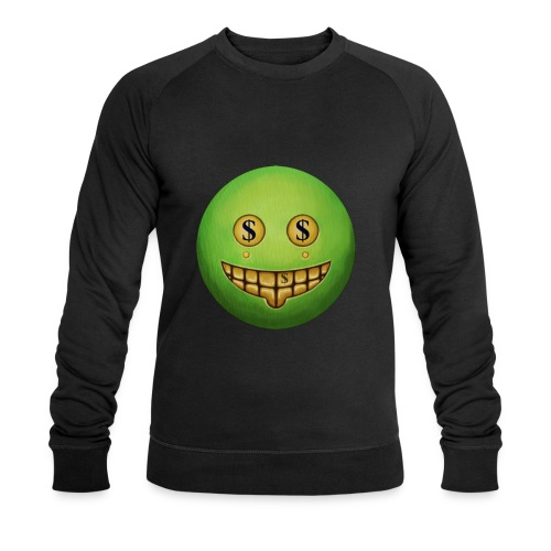 Evil Grin - Men's Organic Sweatshirt by Stanley & Stella