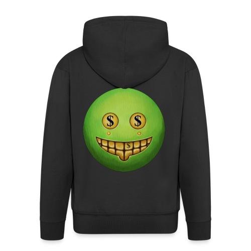 Evil Grin - Men's Premium Hooded Jacket