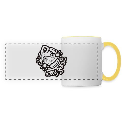 01 Horny Gecko Logo  - Panoramic Mug