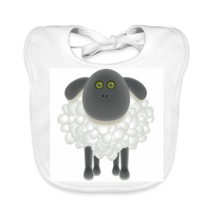 07 Sheep - Baby Organic Bib