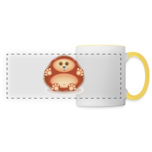 01 Hedgehog - Panoramic Mug