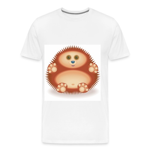 01 Hedgehog - Men's Premium T-Shirt