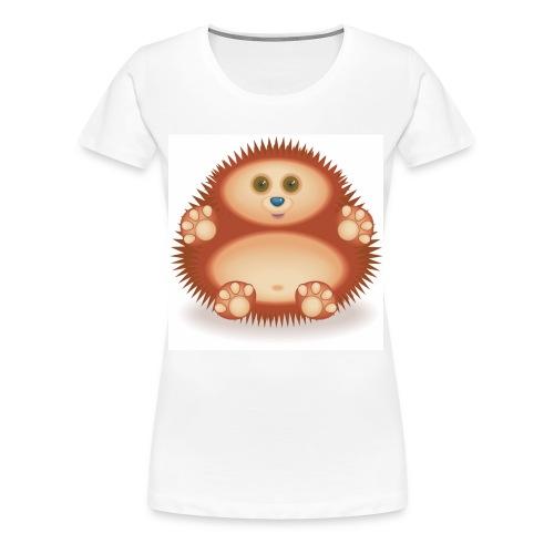 01 Hedgehog - Women's Premium T-Shirt