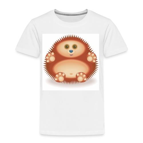 01 Hedgehog - Kids' Premium T-Shirt