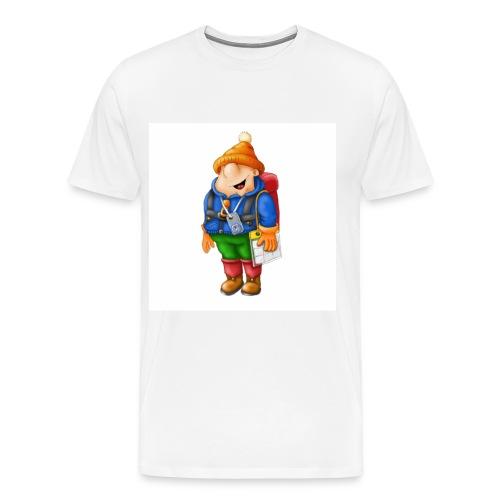 01 Hiker - Men's Premium T-Shirt