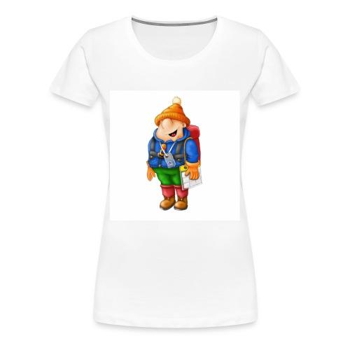 01 Hiker - Women's Premium T-Shirt