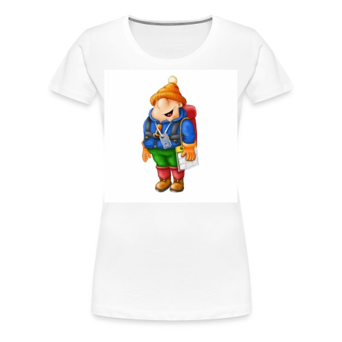 01 Hiker - Women's Premium T-Shirt
