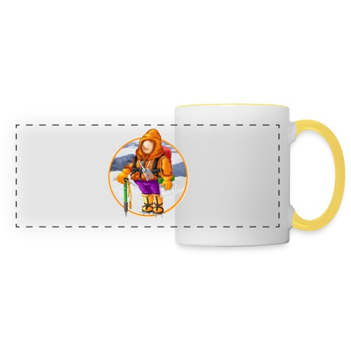 00_Mountain Mayhem Logo - Panoramic Mug