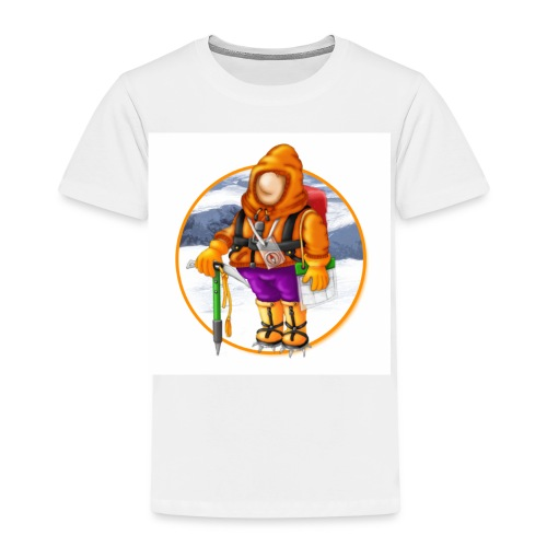 00_Mountain Mayhem Logo - Kids' Premium T-Shirt