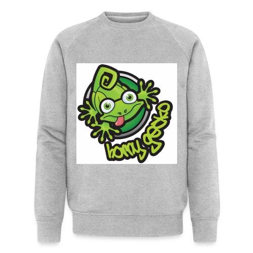01 Horny Gecko Logo - Men's Organic Sweatshirt by Stanley & Stella