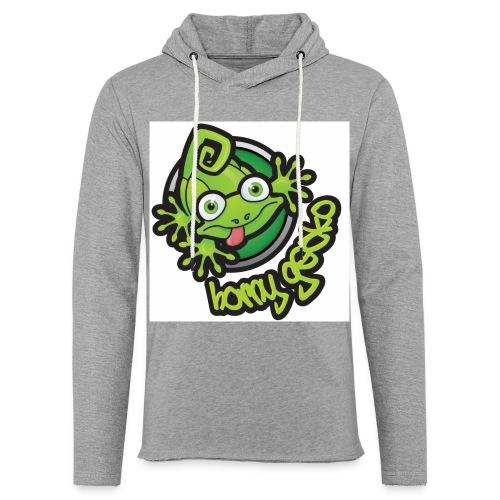 01 Horny Gecko Logo - Light Unisex Sweatshirt Hoodie