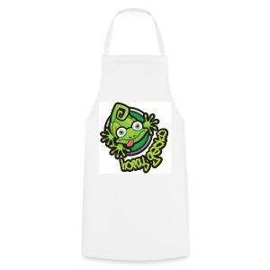 01 Horny Gecko Logo - Cooking Apron