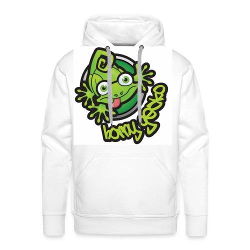 01 Horny Gecko Logo - Men's Premium Hoodie