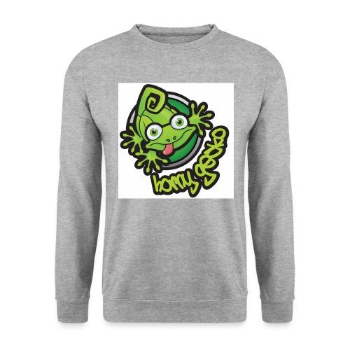 01 Horny Gecko Logo - Men's Sweatshirt