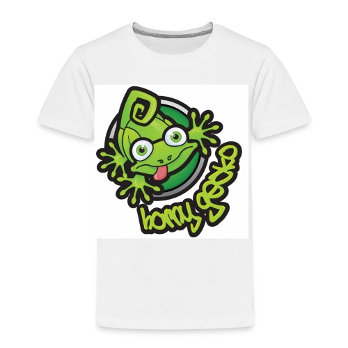 01 Horny Gecko Logo - Kids' Premium T-Shirt