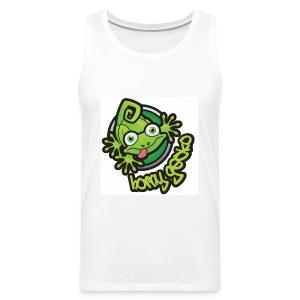 01 Horny Gecko Logo - Men's Premium Tank Top
