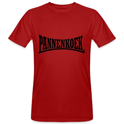 Pannenkoek voetbal - Mannen Bio-T-shirt