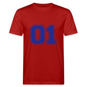 Number one voetbal - Mannen Bio-T-shirt
