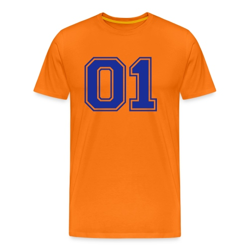 Number one voetbal - Mannen Premium T-shirt
