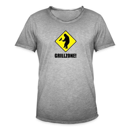 Grillzone - Männer Vintage T-Shirt