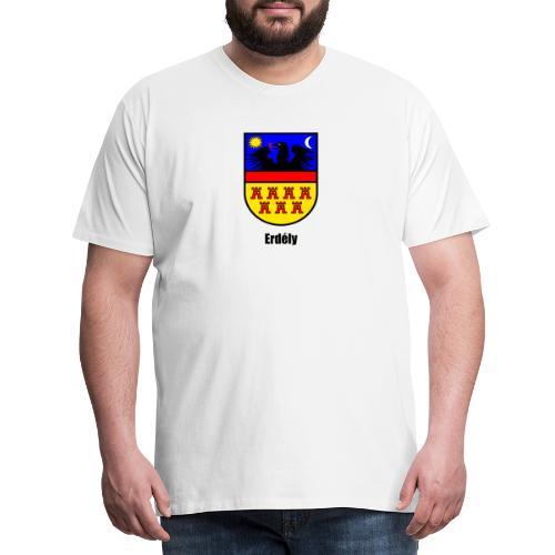 Teddy Siebenbürgen-Wappen Erdély - Männer Premium T-Shirt