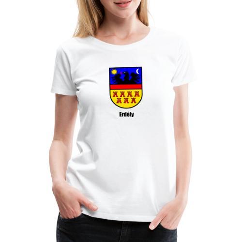 Teddy Siebenbürgen-Wappen Erdély - Frauen Premium T-Shirt