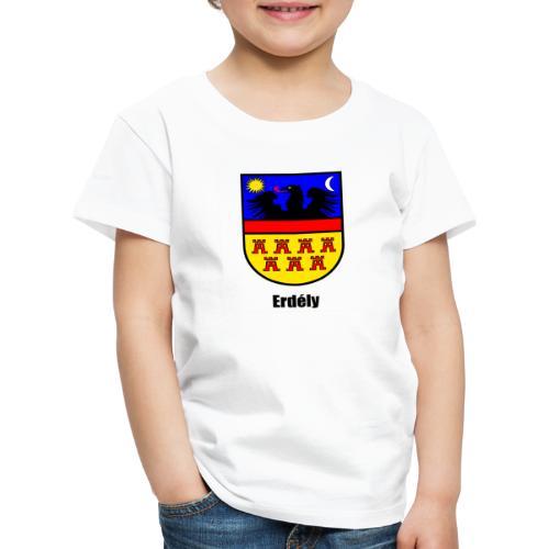 Teddy Siebenbürgen-Wappen Erdély - Kinder Premium T-Shirt