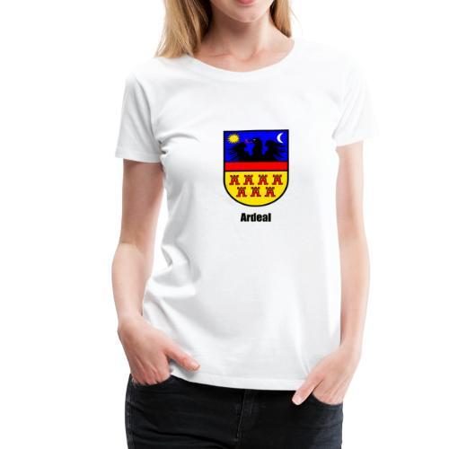 Tasse Siebenbürgen-Wappen Ardeal - Frauen Premium T-Shirt