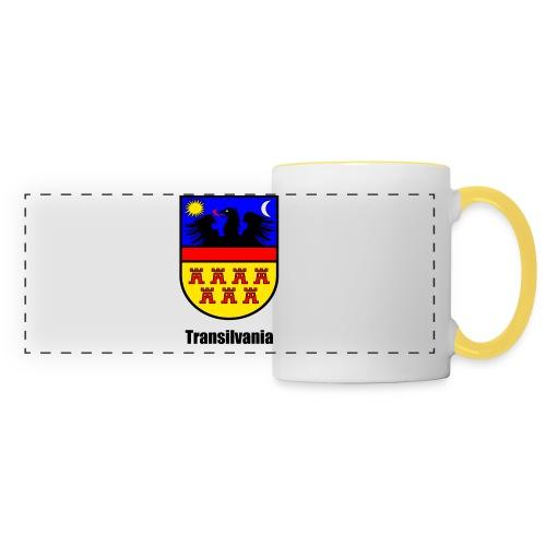 Baseball-Shirt Siebenbürgen-Wappen Transilvania Erdely - Ardeal - Transilvania - Romania - Rumänien - Panoramatasse