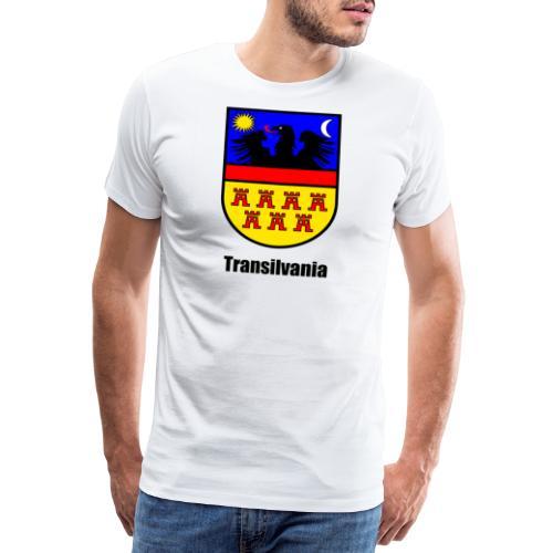 Baseball-Shirt Siebenbürgen-Wappen Transilvania Erdely - Ardeal - Transilvania - Romania - Rumänien - Männer Premium T-Shirt
