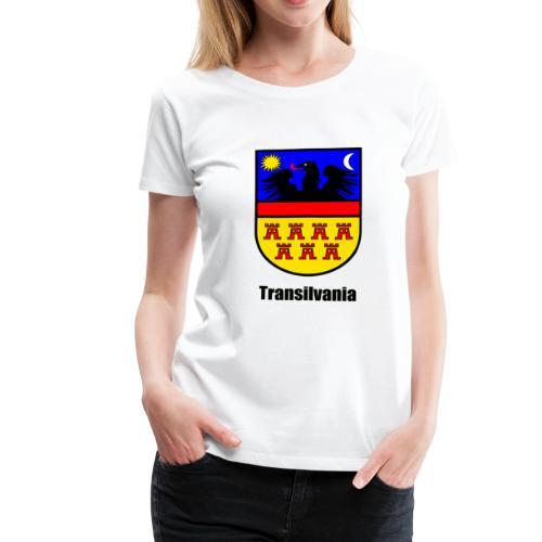 Baseball-Shirt Siebenbürgen-Wappen Transilvania Erdely - Ardeal - Transilvania - Romania - Rumänien - Frauen Premium T-Shirt