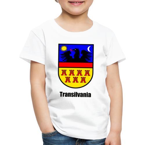 Baseball-Shirt Siebenbürgen-Wappen Transilvania Erdely - Ardeal - Transilvania - Romania - Rumänien - Kinder Premium T-Shirt