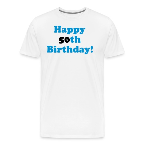 Shirt 50th Birthday - Männer Premium T-Shirt