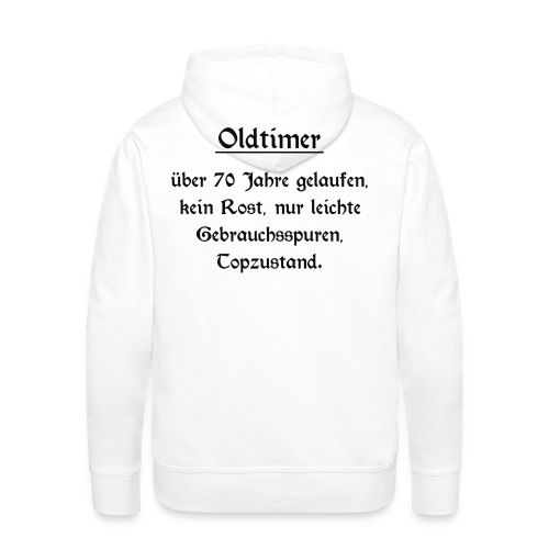 Shirt Oldtimer 70 - Männer Premium Hoodie