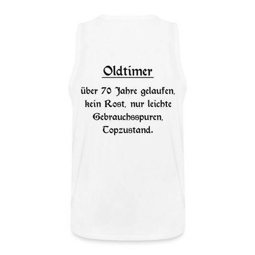 Shirt Oldtimer 70 - Männer Premium Tank Top