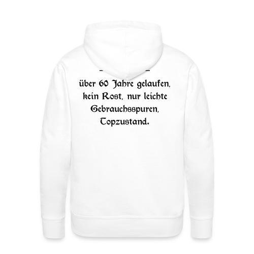 Shirt Oldtimer 60 - Männer Premium Hoodie
