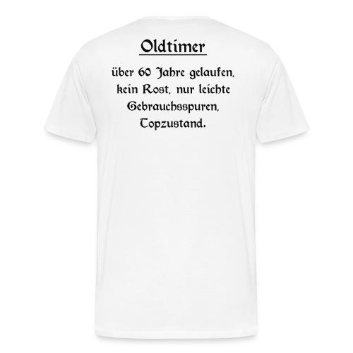 Shirt Oldtimer 60 - Männer Premium T-Shirt