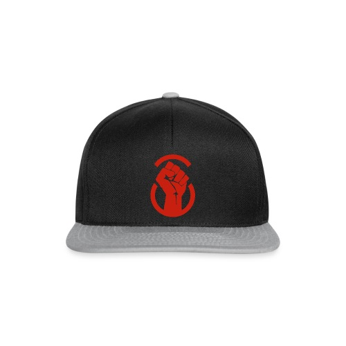 Raised Fist defiance - Snapback Cap