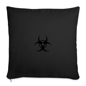 Biohazard cybergoth pink hot panties - Sofa pillow cover 44 x 44 cm