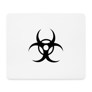 Biohazard cybergoth pink hot panties - Mouse Pad (horizontal)